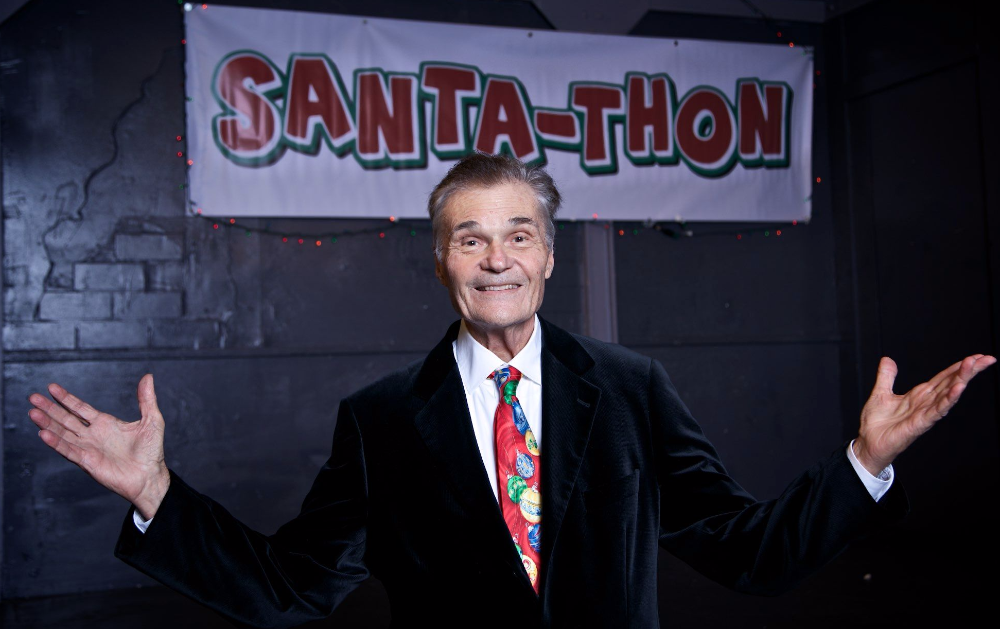 Santa-Thon Host Fred Willard